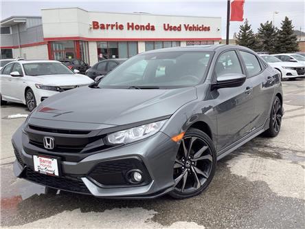 2017 Honda Civic Sport (Stk: U17717) in Barrie - Image 1 of 23