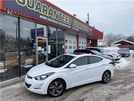 2014 Hyundai Elantra Limited (Stk: -) in Ottawa - Image 1 of 12