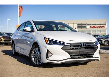 2020 Hyundai Elantra Preferred w/Sun & Safety Package (Stk: P4857) in Saskatoon - Image 1 of 12