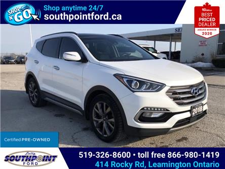 2018 Hyundai Santa Fe Sport 2.0T Ultimate (Stk: S10611R) in Leamington - Image 1 of 27