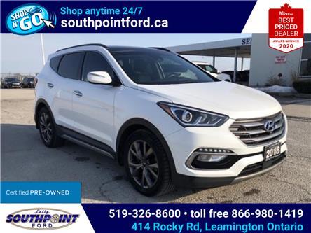2018 Hyundai Santa Fe Sport 2.0T Ultimate (Stk: S10611R) in Leamington - Image 1 of 27