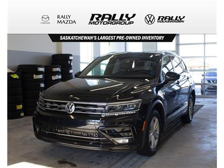2018 Volkswagen Tiguan Highline (Stk: 2102A) in Prince Albert - Image 1 of 16