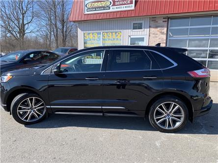 2019 Ford Edge Titanium (Stk: KBB82993) in Morrisburg - Image 1 of 27