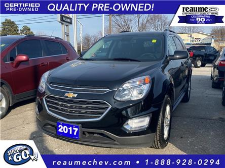 2017 Chevrolet Equinox  (Stk: 21-0349A) in LaSalle - Image 1 of 19