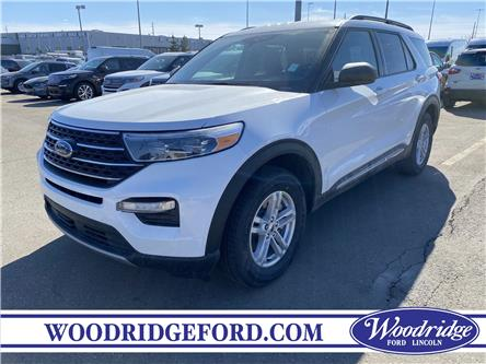 2021 Ford Explorer XLT (Stk: M-609) in Calgary - Image 1 of 4