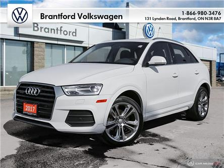 2017 Audi Q3 2.0T Progressiv (Stk: P13419) in Brantford - Image 1 of 27