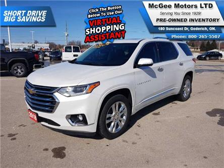 2018 Chevrolet Traverse High Country (Stk: JJ218334) in Goderich - Image 1 of 30