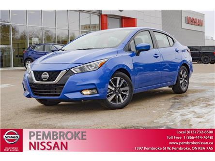 2021 Nissan Versa SV (Stk: 21025) in Pembroke - Image 1 of 26