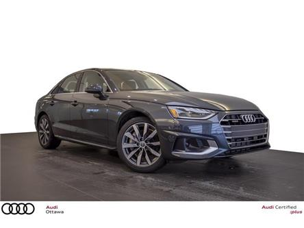 2020 Audi A4 2.0T Komfort (Stk: 53478) in Ottawa - Image 1 of 17