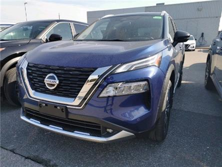2021 Nissan Rogue Platinum (Stk: CMW308469) in Cobourg - Image 1 of 2
