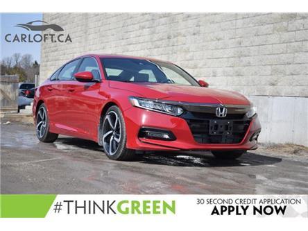 2018 Honda Accord Sport (Stk: B7056) in Kingston - Image 1 of 21