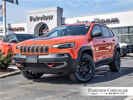 2021 Jeep Cherokee Trailhawk (Stk: MD287) in Burlington - Image 1 of 30
