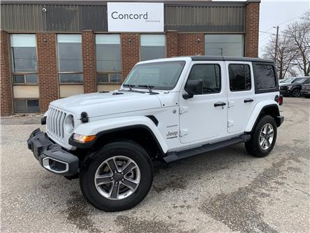 2021 Jeep Wrangler Unlimited Sahara (Stk: C5671) in Concord - Image 1 of 5