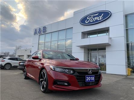 2018 Honda Accord Sport (Stk: 2129A) in Perth - Image 1 of 15
