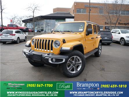 2021 Jeep Wrangler Unlimited Sahara (Stk: 21273) in Mississauga - Image 1 of 6