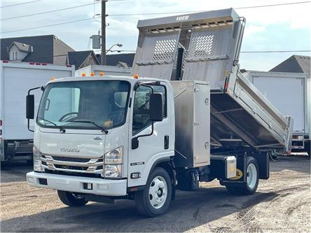 2021 Isuzu NRR New 2021 Isuzu With Aluminum Dump/Cross Box (Stk: DTI21034) in Toronto - Image 1 of 21