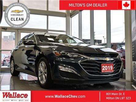 2019 Chevrolet Malibu 1LT | TRUE NORTH | SUNROOF | HEATED SEATS | LOW K (Stk: 133669A) in Milton - Image 1 of 19