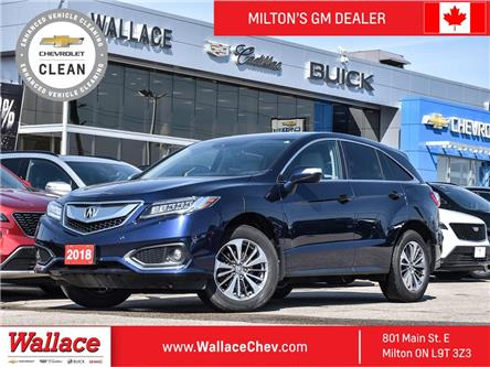 2018 Acura RDX AWD w-Advance Pkg (Stk: 215468A) in Milton - Image 1 of 22