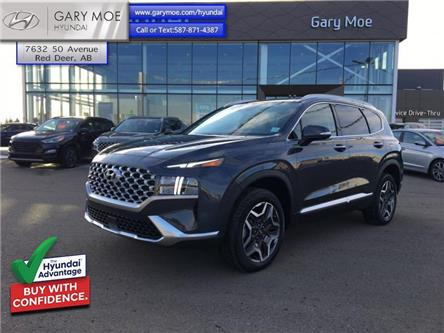 2021 Hyundai Santa Fe Hybrid Luxury AWD (Stk: 1SF3748) in Red Deer - Image 1 of 13