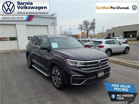 2021 Volkswagen Atlas 3.6 FSI Execline (Stk: VU1101) in Sarnia - Image 1 of 23