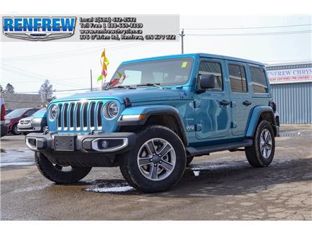 2020 Jeep Wrangler Unlimited Sahara (Stk: P1767) in Renfrew - Image 1 of 30