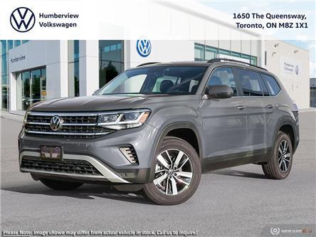 2021 Volkswagen Atlas 2.0 TSI Comfortline (Stk: 98432) in Toronto - Image 1 of 23