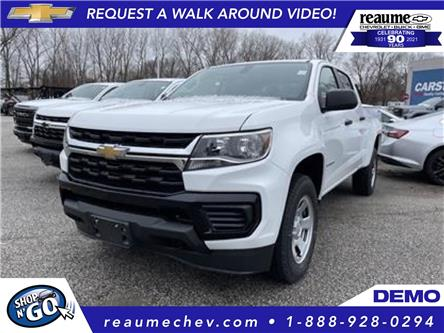 2021 Chevrolet Colorado WT (Stk: 21-0221) in LaSalle - Image 1 of 8