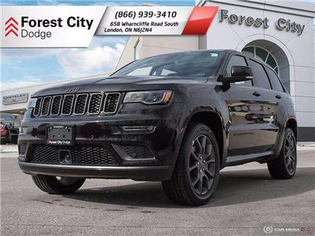 2021 Jeep Grand Cherokee Overland (Stk: 21-7017) in London - Image 1 of 35