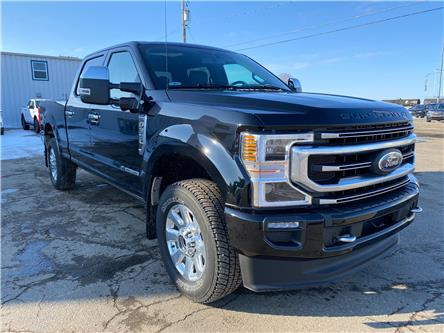2020 Ford F-350 Platinum (Stk: 21118A) in Wilkie - Image 1 of 25