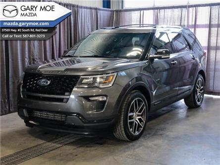 2018 Ford Explorer Sport (Stk: 1C59459A) in Red Deer - Image 1 of 26