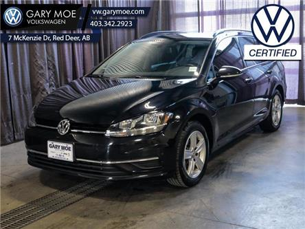 2019 Volkswagen Golf SportWagen Comfortline DSG 4MOTION (Stk: VP7789) in Red Deer County - Image 1 of 24