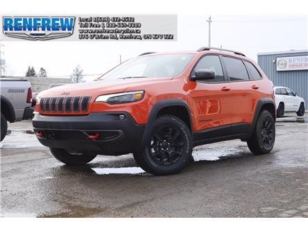 2021 Jeep Cherokee Trailhawk (Stk: M016) in Renfrew - Image 1 of 30