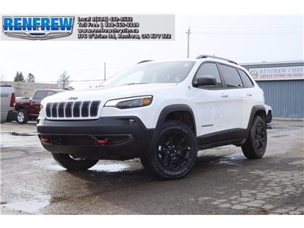 2021 Jeep Cherokee Trailhawk (Stk: M017) in Renfrew - Image 1 of 34