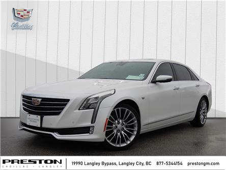 2018 Cadillac CT6 3.0L Twin Turbo Luxury (Stk: X31501) in Langley City - Image 1 of 30