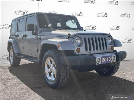 2013 Jeep Wrangler Unlimited Sahara (Stk: 1114AZ) in St. Thomas - Image 1 of 29