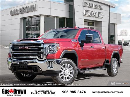 2021 GMC Sierra 2500HD SLT (Stk: F218686) in PORT PERRY - Image 1 of 16