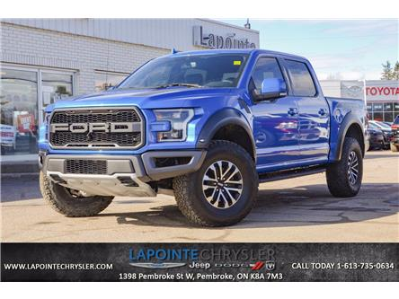 2019 Ford F-150 Raptor (Stk: P3641) in Pembroke - Image 1 of 30