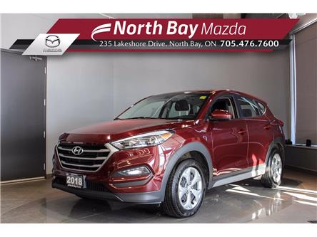 2018 Hyundai Tucson Base 2.0L (Stk: U6770) in North Bay - Image 1 of 19