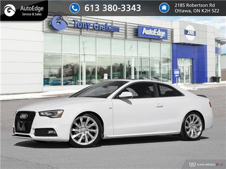 2014 Audi A5 2.0 Technik (Stk: A0550) in Ottawa - Image 1 of 27