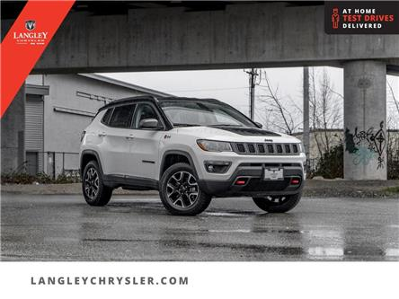 2020 Jeep Compass Trailhawk (Stk: M558113A) in Surrey - Image 1 of 25