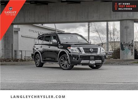 2017 Nissan Armada Platinum (Stk: M526648A) in Surrey - Image 1 of 25
