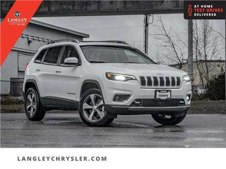 2021 Jeep Cherokee Limited (Stk: M152572) in Surrey - Image 1 of 22
