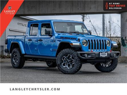 2021 Jeep Gladiator Rubicon (Stk: M535823) in Surrey - Image 1 of 23