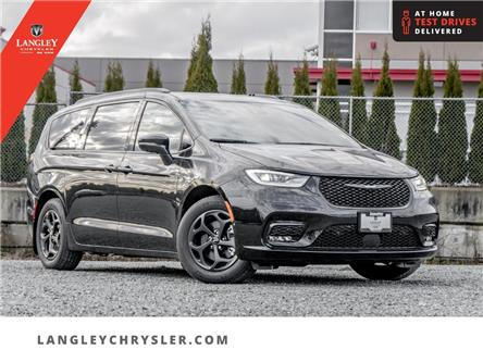 2021 Chrysler Pacifica Hybrid Limited (Stk: M522059) in Surrey - Image 1 of 24