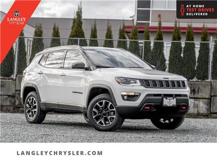 2021 Jeep Compass Trailhawk (Stk: M565547) in Surrey - Image 1 of 22