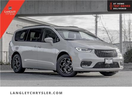 2021 Chrysler Pacifica Hybrid Limited (Stk: M522060) in Surrey - Image 1 of 24