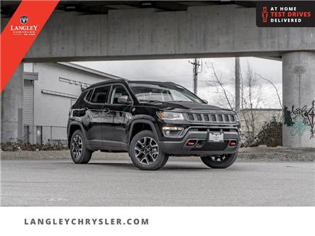 2021 Jeep Compass Trailhawk (Stk: M568344) in Surrey - Image 1 of 23