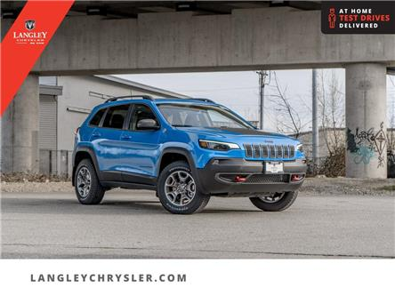 2021 Jeep Cherokee Trailhawk (Stk: M179155) in Surrey - Image 1 of 19