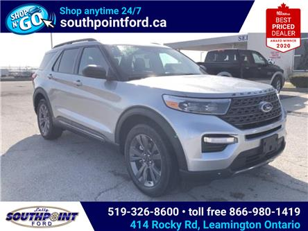 2021 Ford Explorer XLT (Stk: SEX6908) in Leamington - Image 1 of 26
