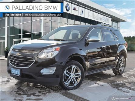 2017 Chevrolet Equinox Premier (Stk: U0199) in Sudbury - Image 1 of 26